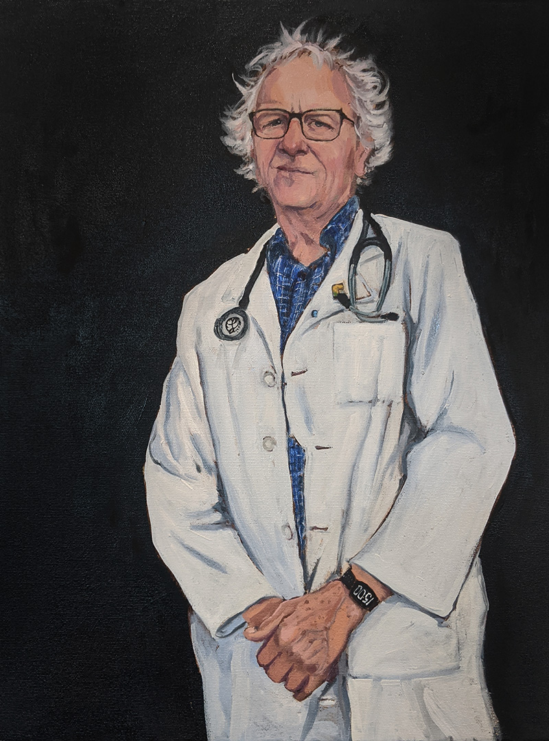 Doctor Don Klassen by Bev Friesen