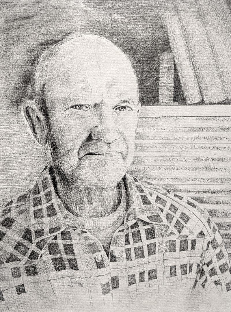 Peter Wiebe by Olga Krahn