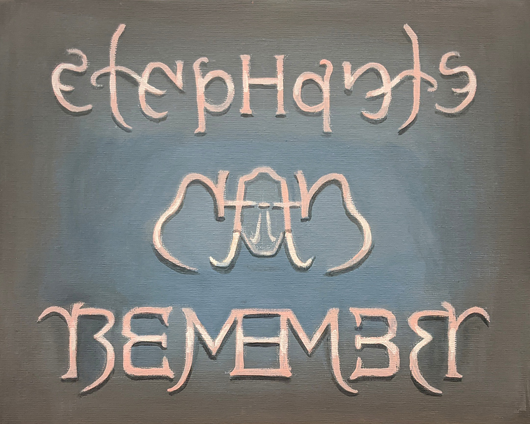 Elephants Remember by Kelly Klages