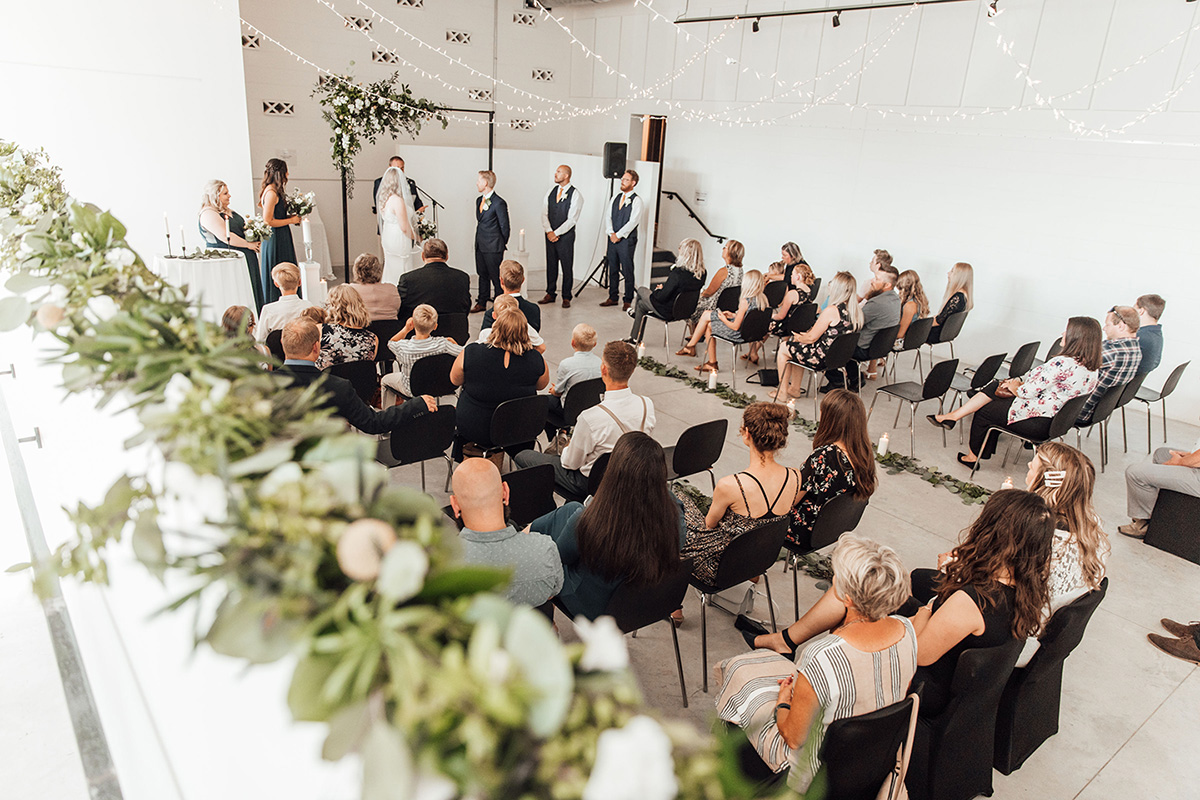 Winkler Arts and Culture wedding