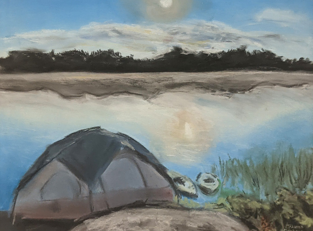 The Camping Trip by Arianna Derksen