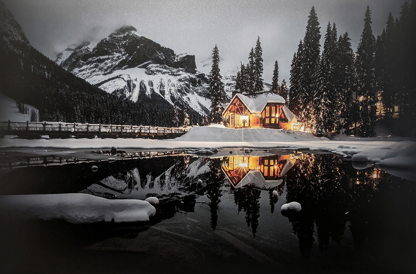 Emerald Lake by Jeff Scott