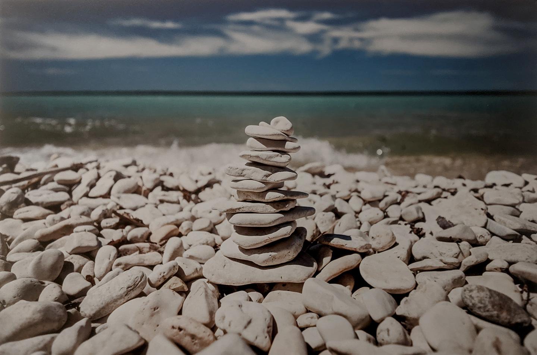 Skipping Stones by Jeff Scott
