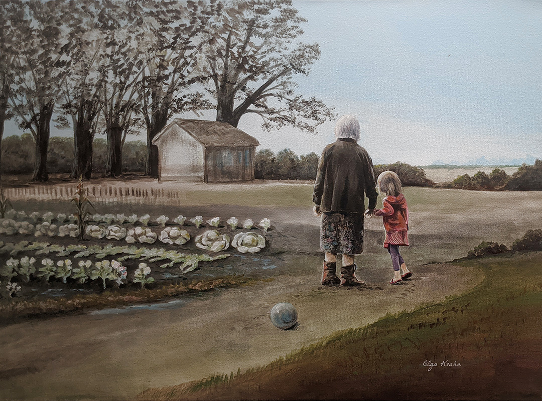 Growing Up by Olga Krahn